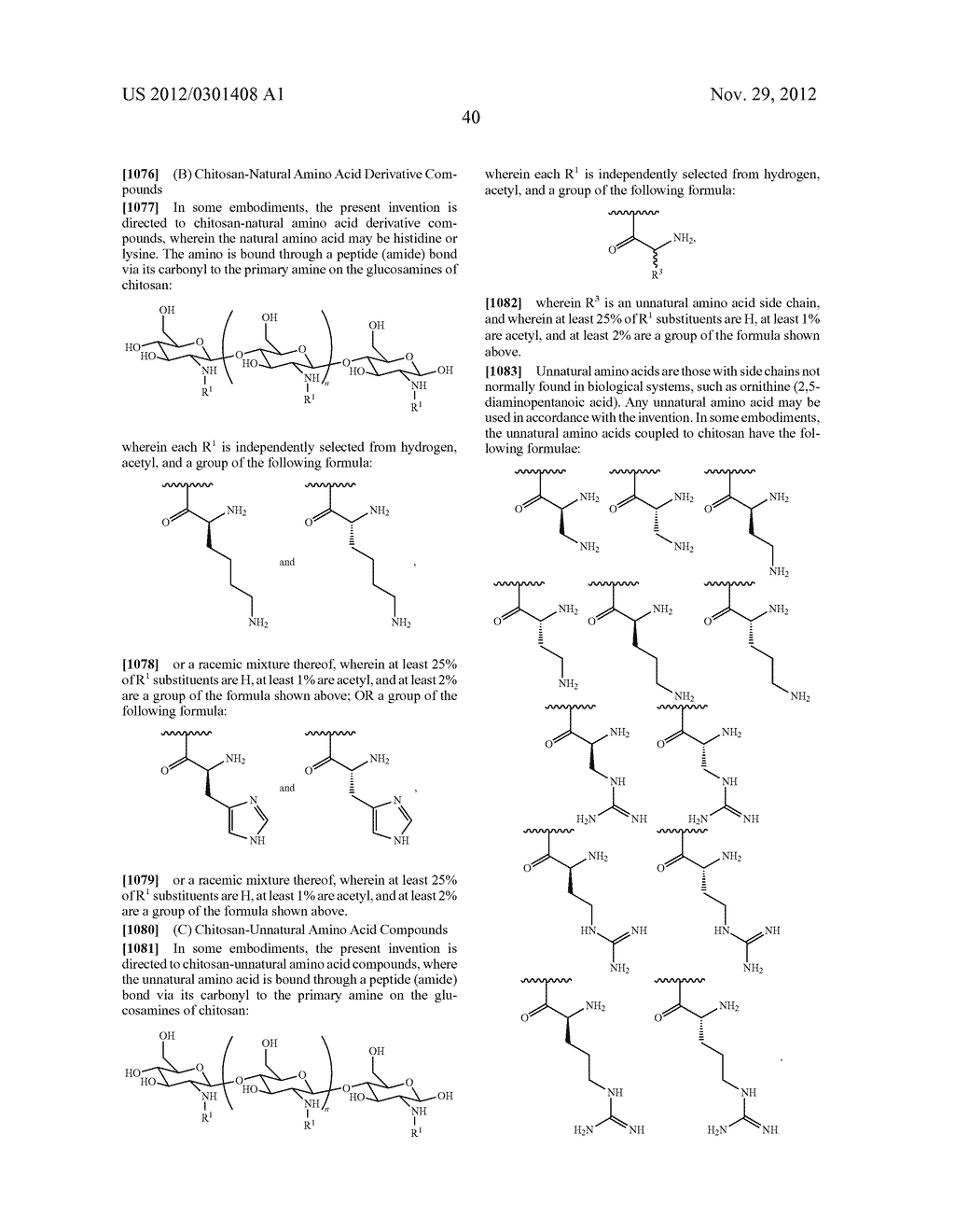 ORAL CARE METHODS AND COMPOSITIONS UTILIZING CHITOSAN-DERIVATIVE COMPOUNDS - diagram, schematic, and image 61
