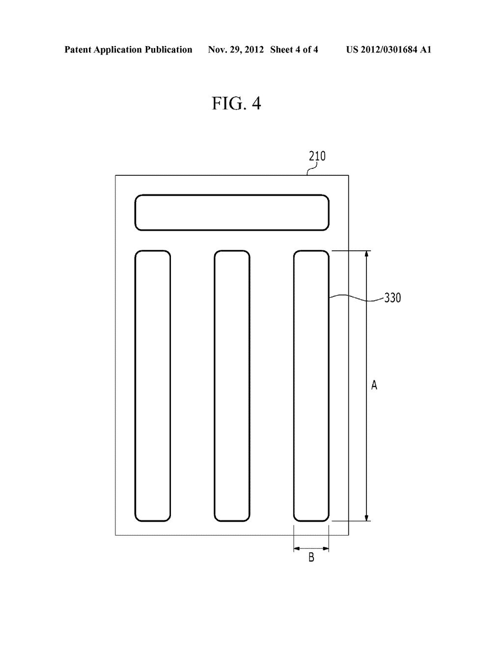 PHOTOSENSITIVE FILM PATTERN AND METHOD FOR MANUFACTURING A PHOTOSENSITIVE     FILM PATTERN - diagram, schematic, and image 05