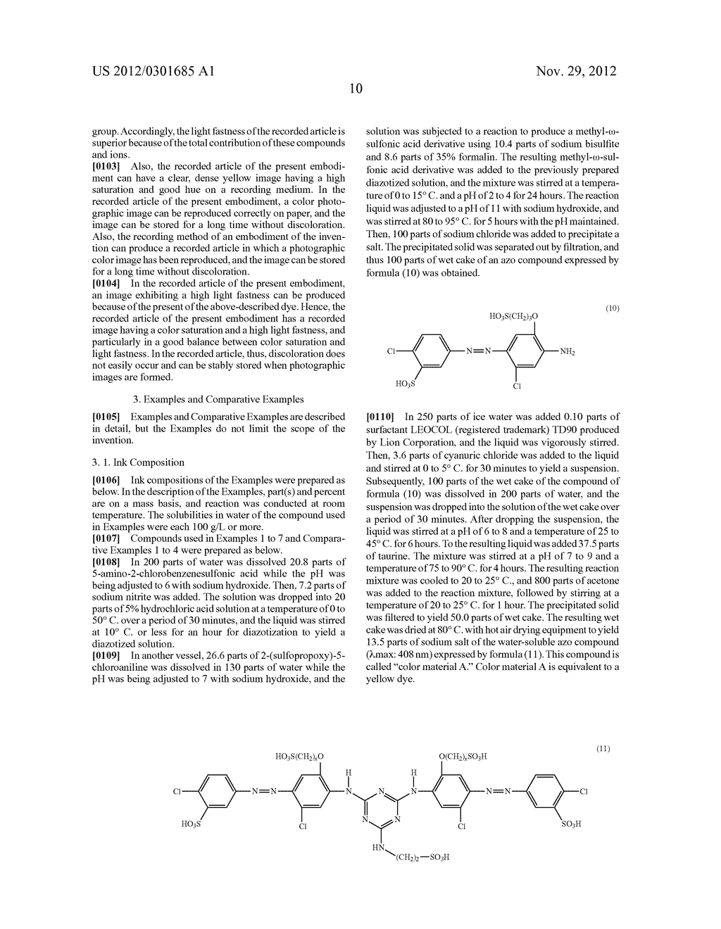 INK COMPOSITION, RECORDING METHOD, AND RECORDED ARTICLE - diagram, schematic, and image 11