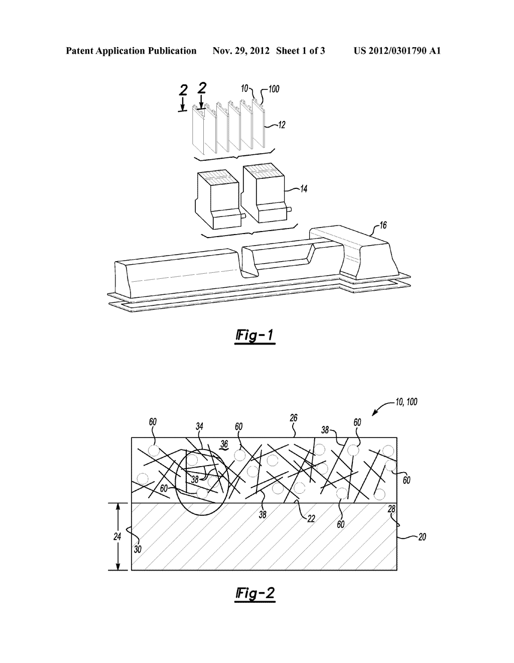 LITHIUM ION SECONDARY BATTERY ELECTRODE AND METHOD OF FORMING SAME - diagram, schematic, and image 02
