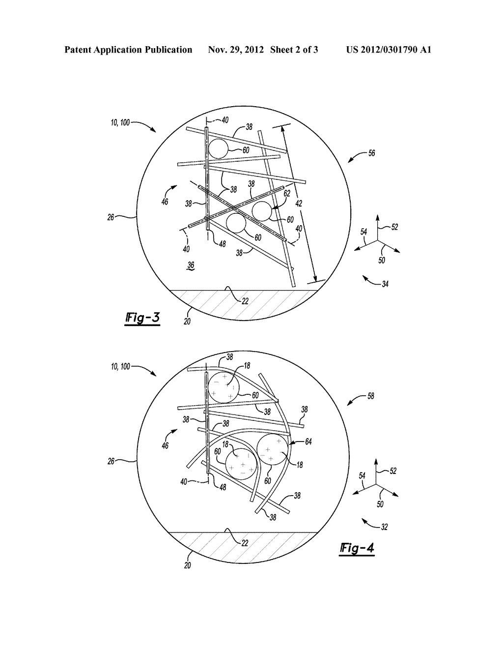 LITHIUM ION SECONDARY BATTERY ELECTRODE AND METHOD OF FORMING SAME - diagram, schematic, and image 03