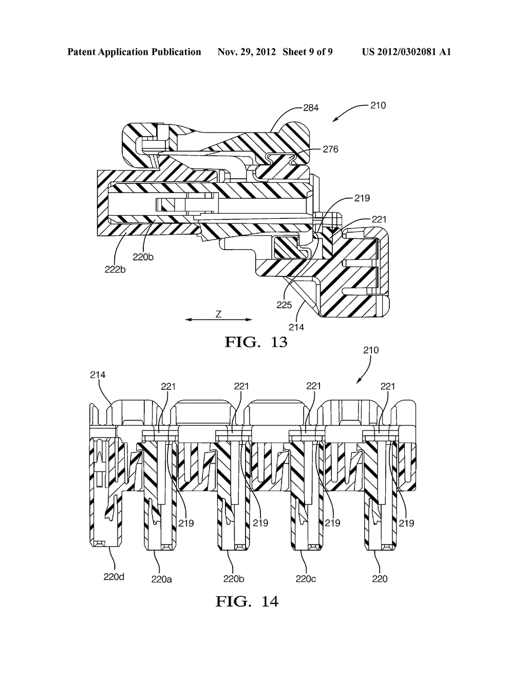 ELECTRICAL CONNECTION SYSTEM HAVING DIELECTRIC SPRING TO ABSORB AXIAL     POSITIONAL MATING TOLERANCE VARIATION FOR MULTIPLE CONNECTORS - diagram, schematic, and image 10