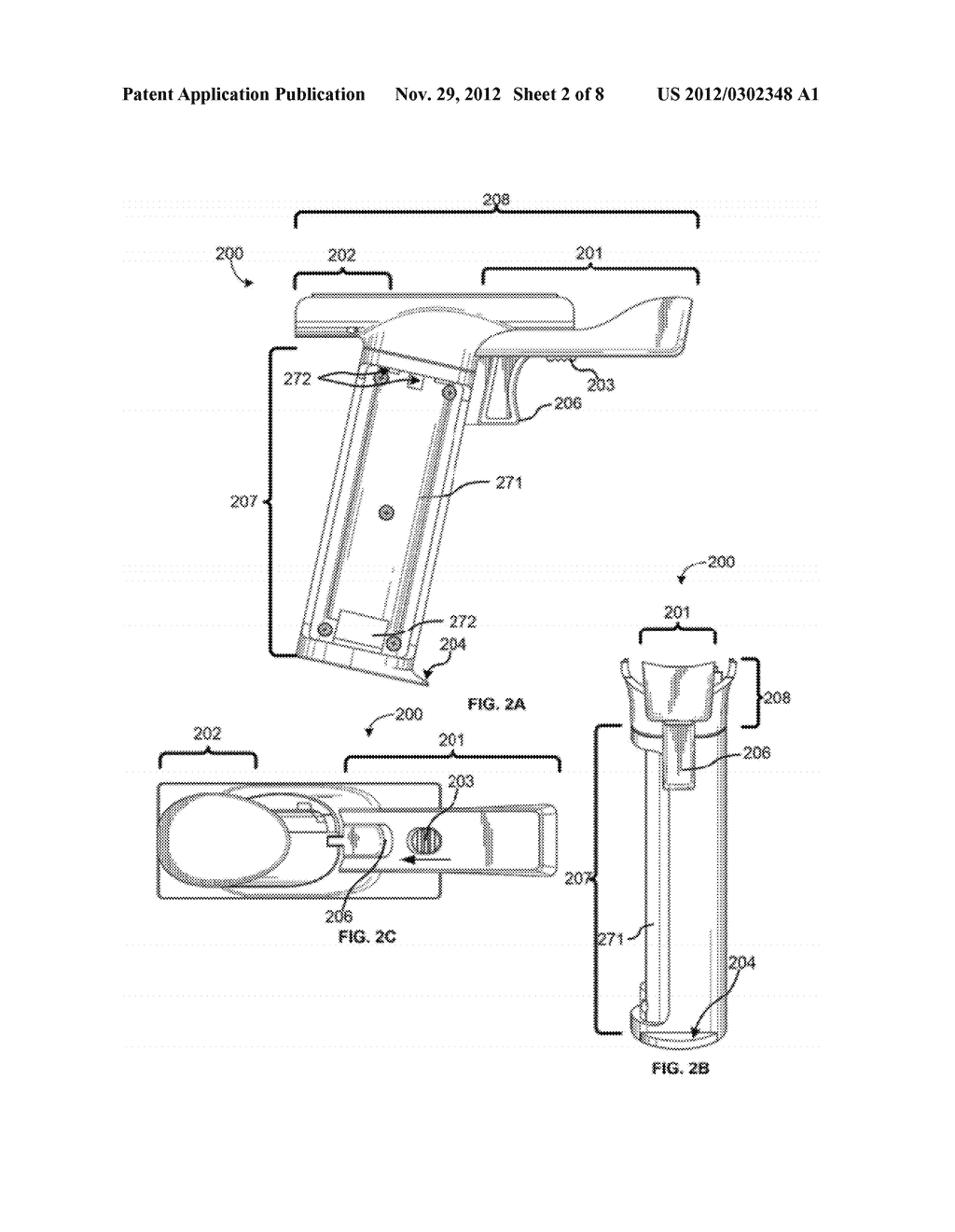 GUN HANDLE ATTACHMENT FOR GAME CONTROLLER - diagram, schematic, and image 03