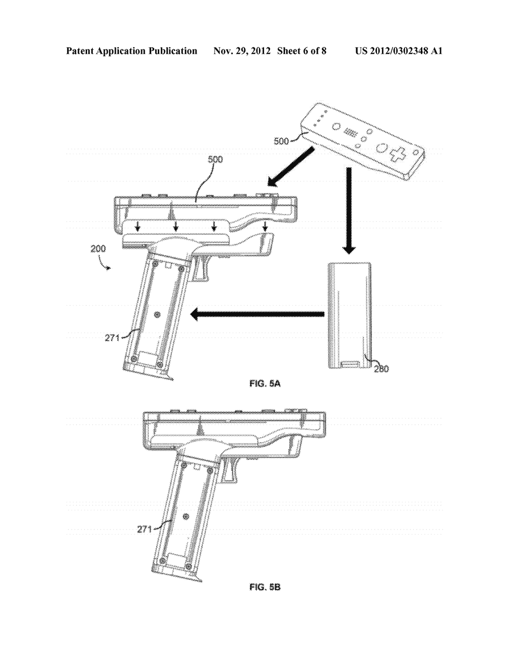 GUN HANDLE ATTACHMENT FOR GAME CONTROLLER - diagram, schematic, and image 07