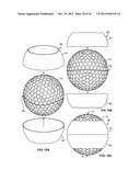 Golf Ball Having An Aerodynamic Coating Including Micro Surface Roughness diagram and image