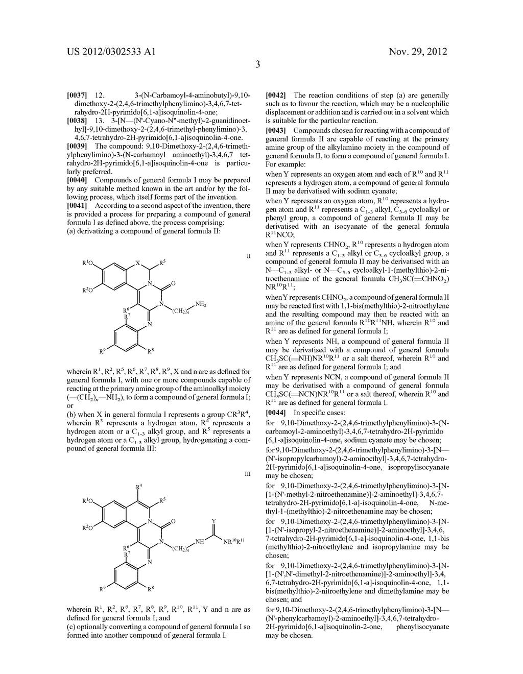 DERIVATIVES OF PYRIMIDO [6,1-A] ISOQUINOLIN-4-ONE - diagram, schematic, and image 09