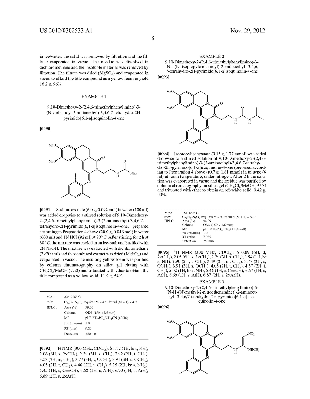 DERIVATIVES OF PYRIMIDO [6,1-A] ISOQUINOLIN-4-ONE - diagram, schematic, and image 14