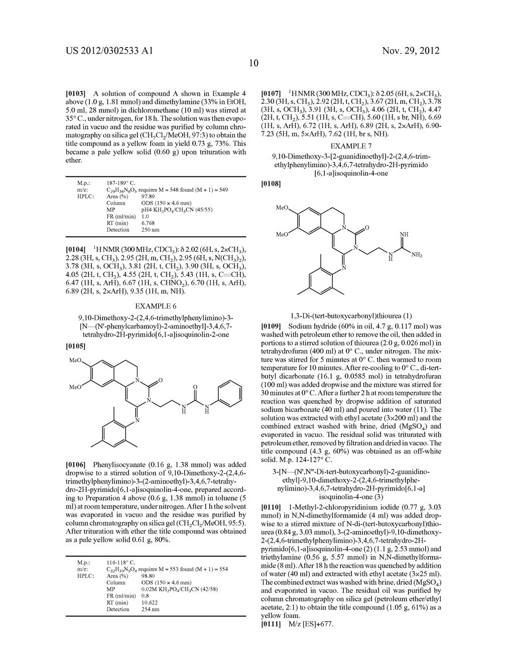 DERIVATIVES OF PYRIMIDO [6,1-A] ISOQUINOLIN-4-ONE - diagram, schematic, and image 16