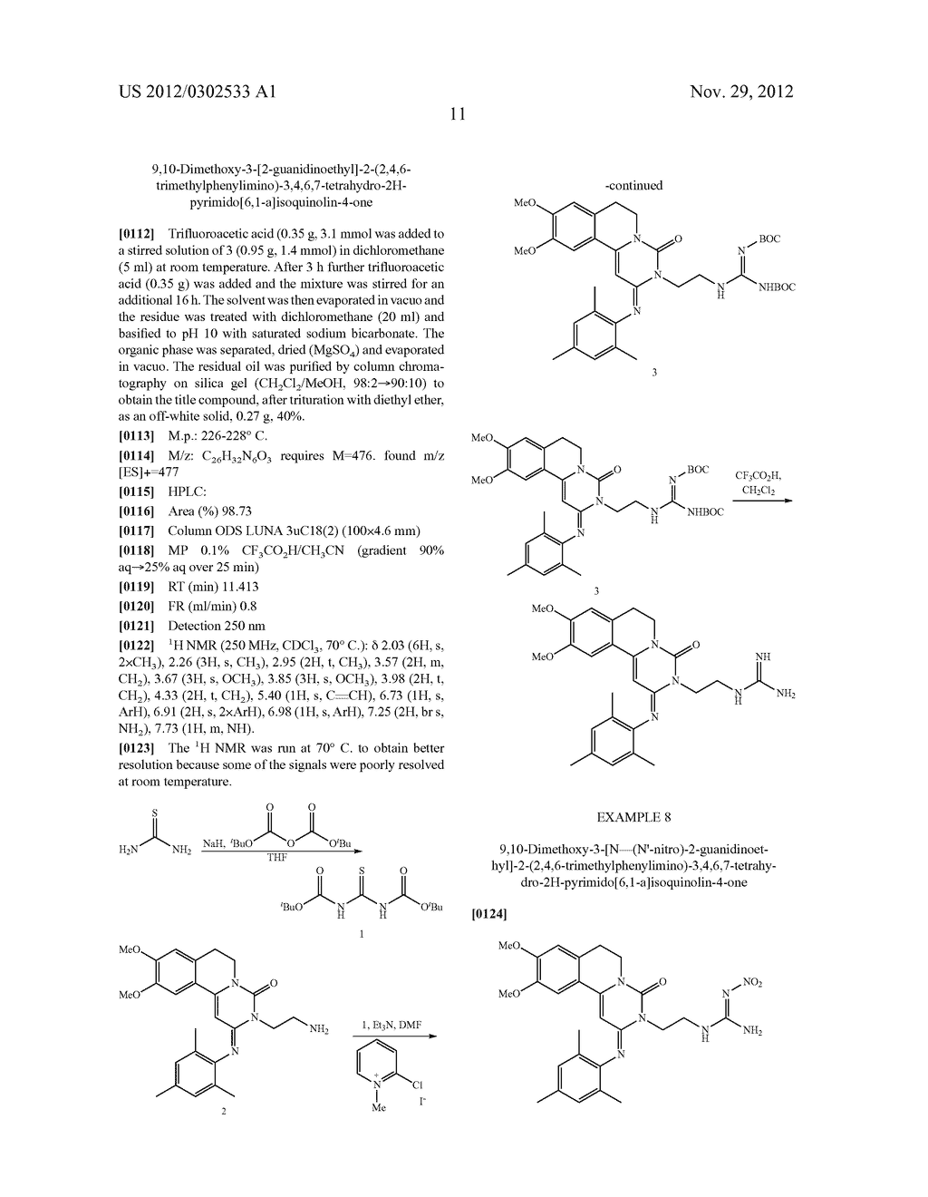 DERIVATIVES OF PYRIMIDO [6,1-A] ISOQUINOLIN-4-ONE - diagram, schematic, and image 17