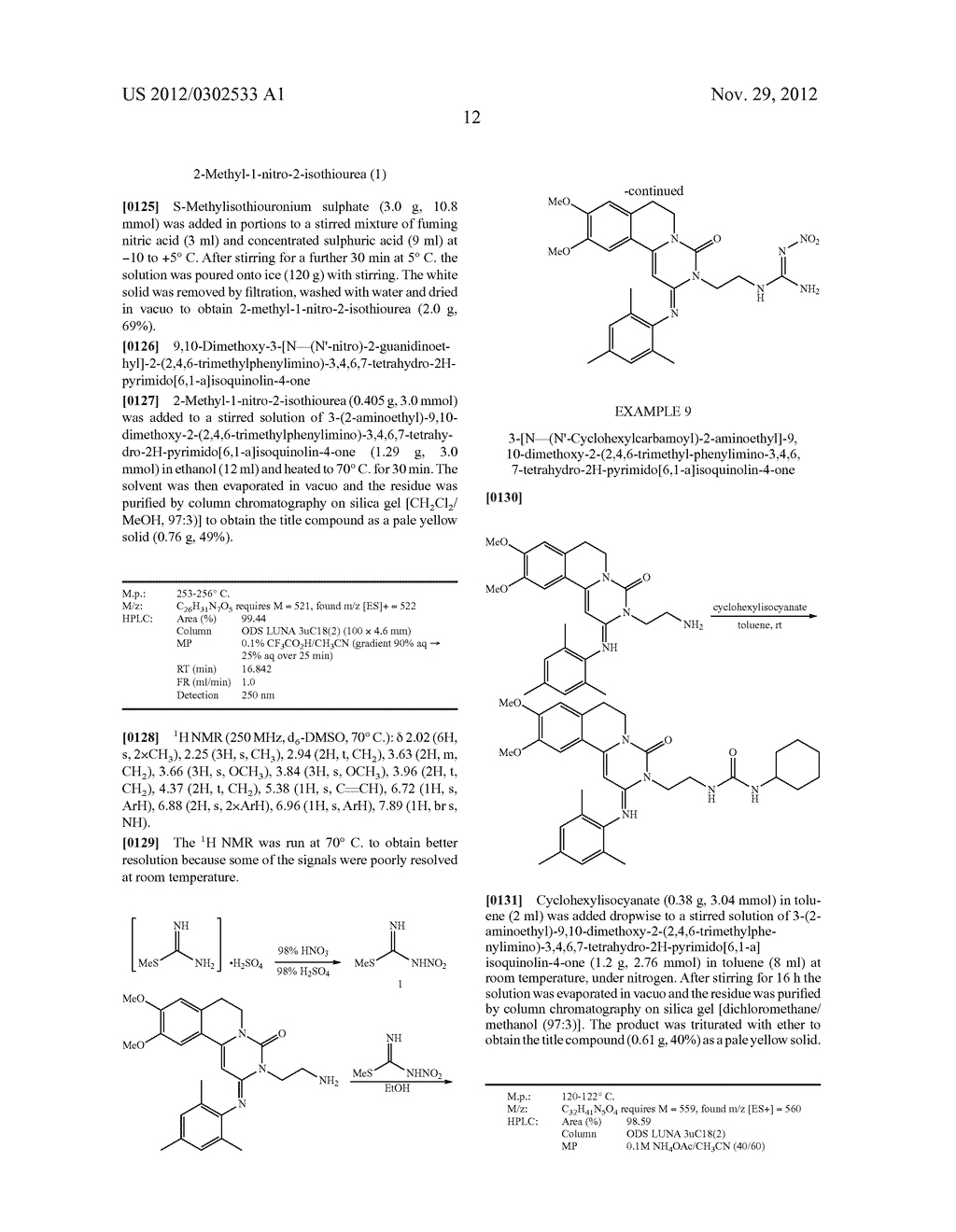 DERIVATIVES OF PYRIMIDO [6,1-A] ISOQUINOLIN-4-ONE - diagram, schematic, and image 18