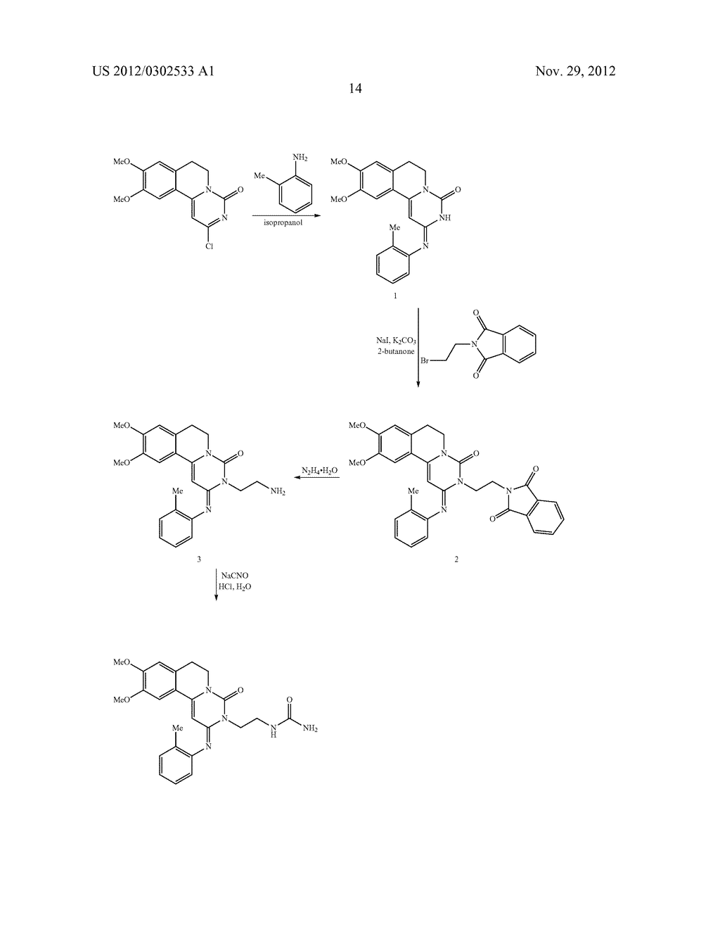 DERIVATIVES OF PYRIMIDO [6,1-A] ISOQUINOLIN-4-ONE - diagram, schematic, and image 20