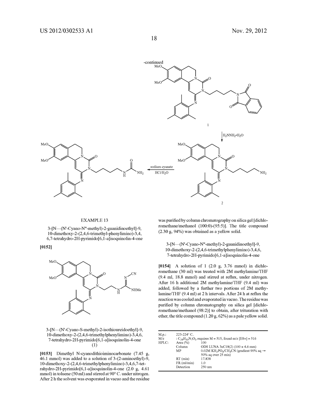 DERIVATIVES OF PYRIMIDO [6,1-A] ISOQUINOLIN-4-ONE - diagram, schematic, and image 24