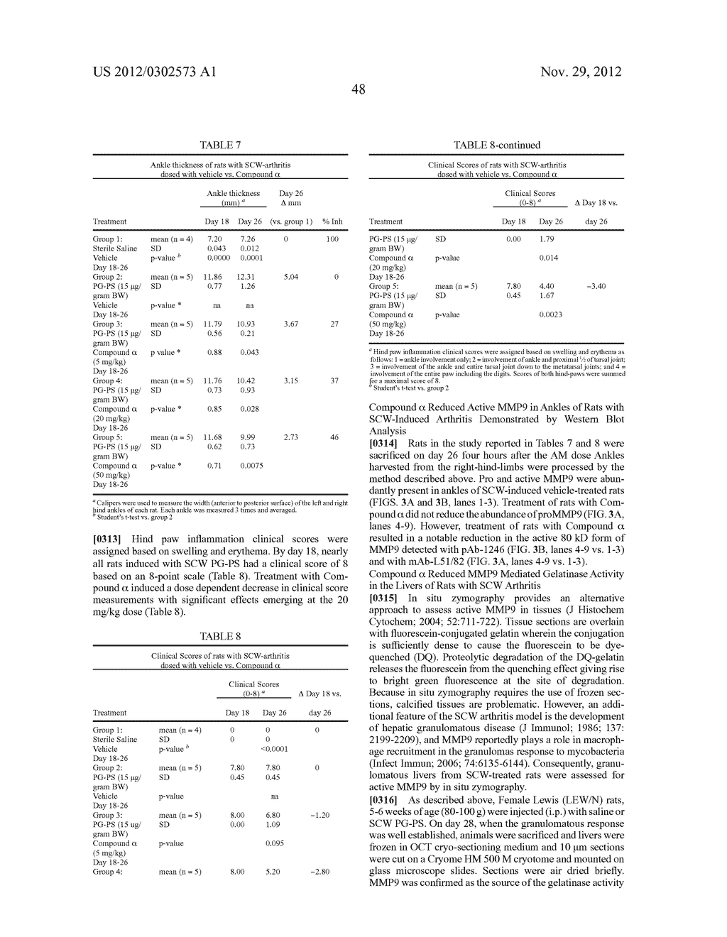 METHODS OF INHIBITING PRO MATRIX METALLOPROTEINASE ACTIVATION - diagram, schematic, and image 52