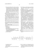 COPOLYMER COMPOSED OF A POLYPHENYLENE AND A FLEXIBLE CHAIN COMPONENT diagram and image