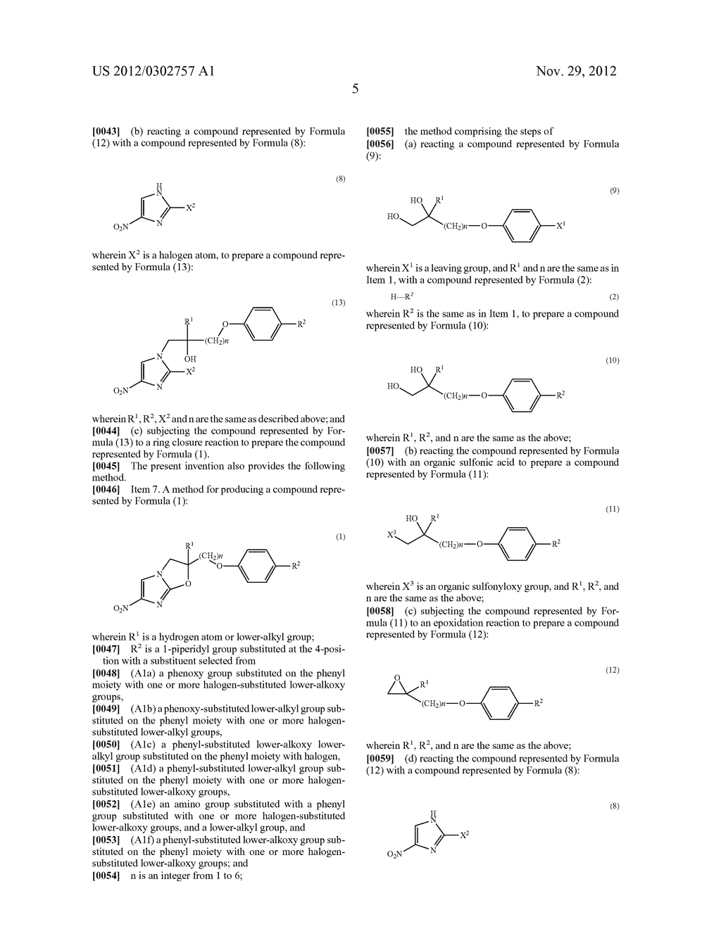 SYNTHETIC INTERMEDIATE OF OXAZOLE COMPOUND AND METHOD FOR PRODUCING THE     SAME - diagram, schematic, and image 06