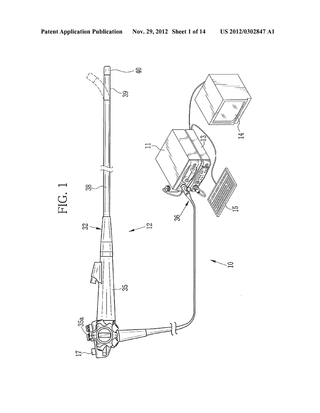 ENDOSCOPE SYSTEM AND METHOD FOR ASSISTING IN DIAGNOSTIC ENDOSCOPY - diagram, schematic, and image 02