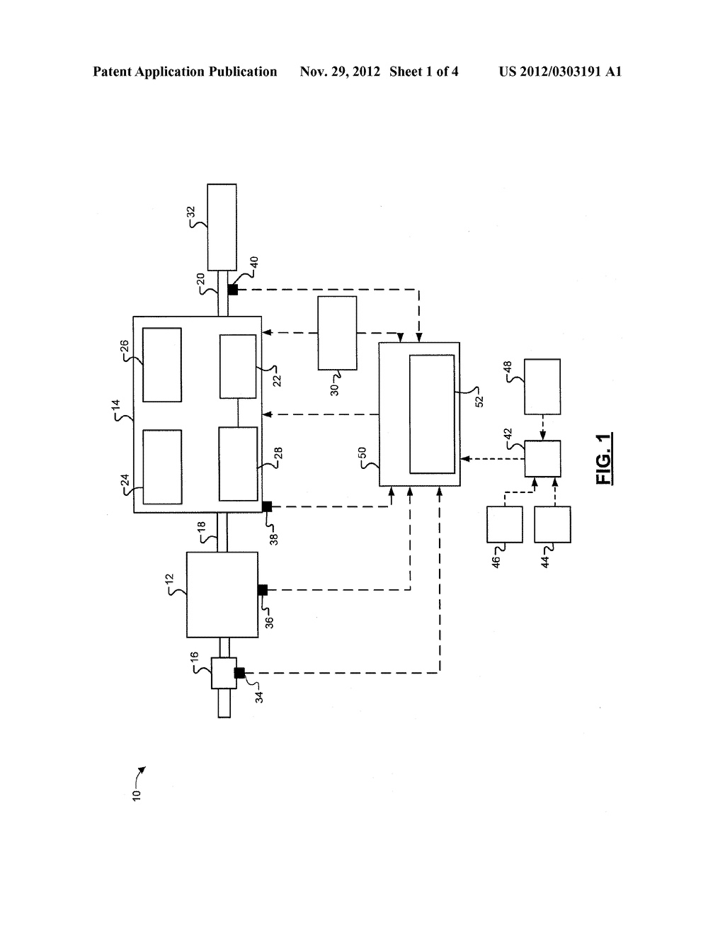 Method of Prioritizing Output Torque And Off-Going Clutch Torque     Constraints During A Torque Phase - diagram, schematic, and image 02