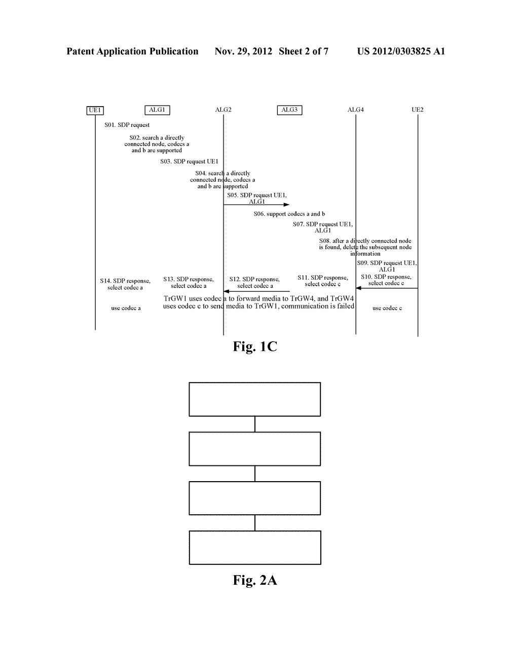METHOD AND DEVICE CONFIGURED FOR PROCESSING AN SDP REQUEST IN A MEDIA PATH     OPTIMIZATION PROCESS - diagram, schematic, and image 03