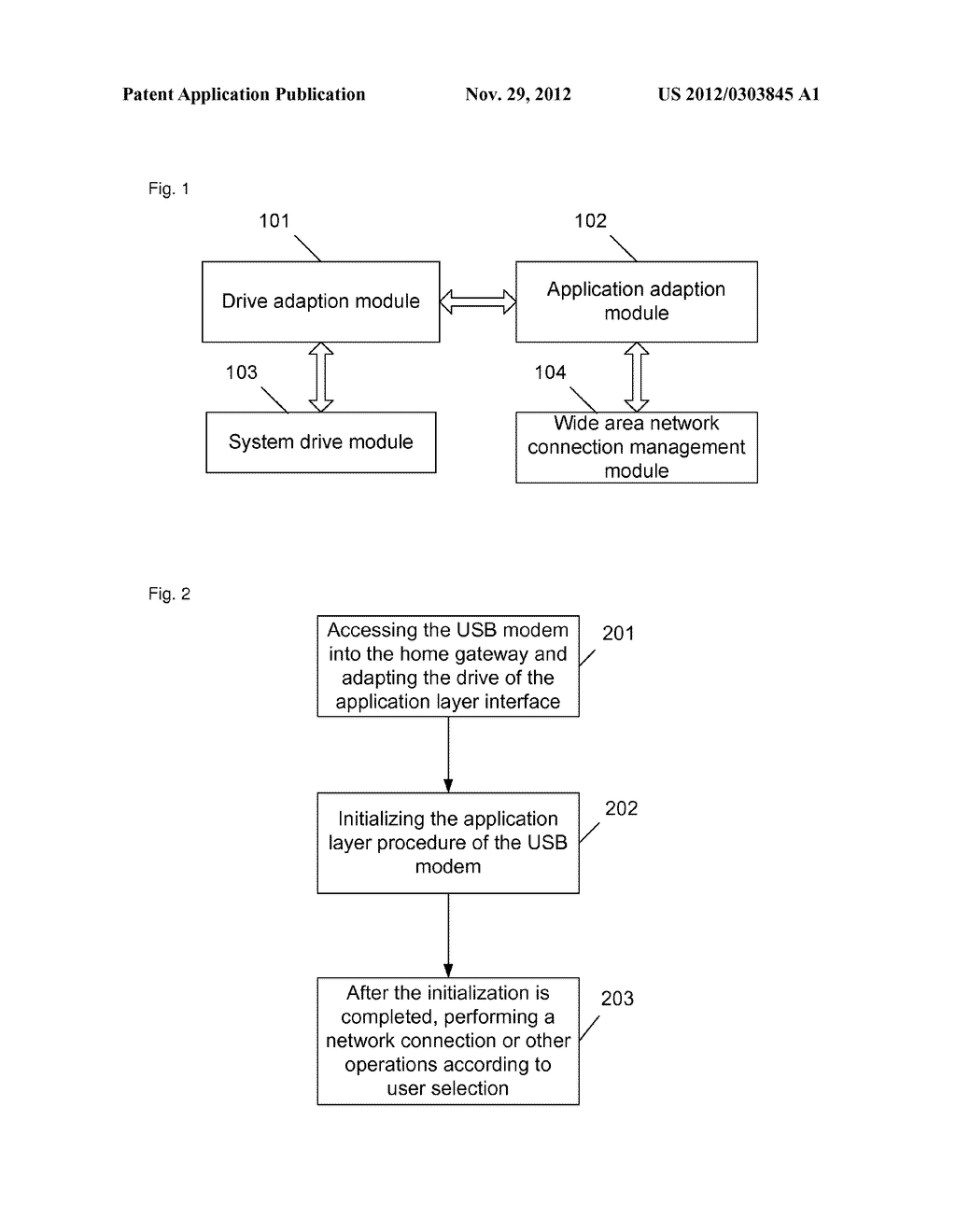 Home gateway and method for adapting USB modem - diagram, schematic, and image 02