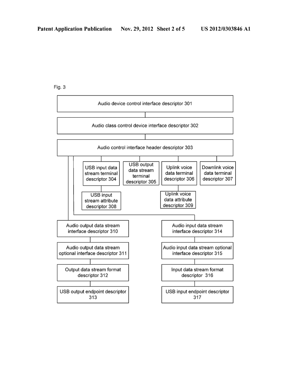Method for implementing audio transmission and mobile terminal - diagram, schematic, and image 03
