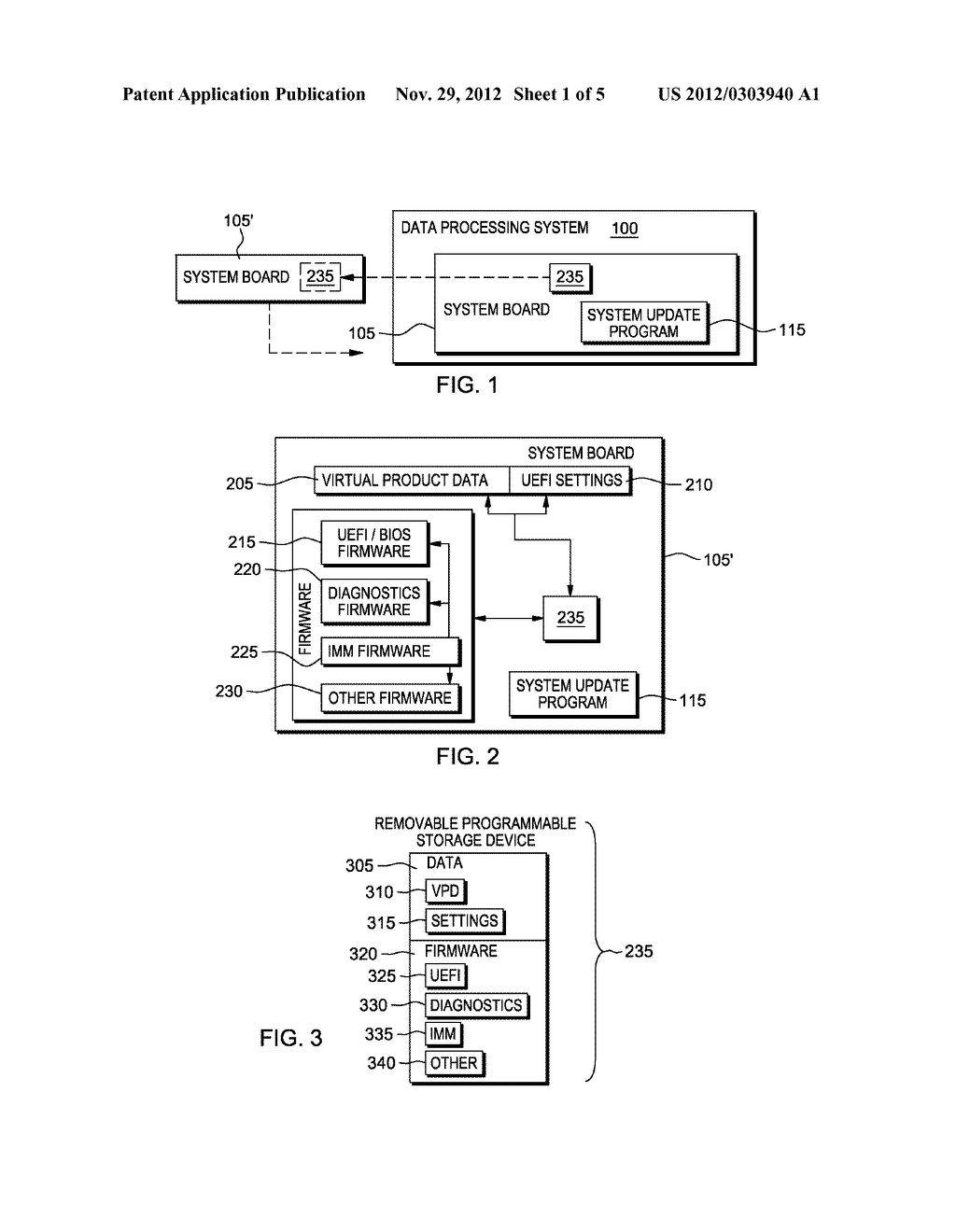 SYSTEM, METHOD AND PROGRAM PRODUCT TO MANAGE FIRMWARE ON A SYSTEM BOARD - diagram, schematic, and image 02