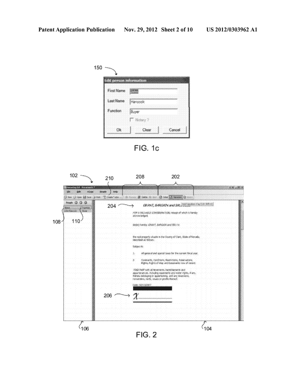 SYSTEM AND METHOD FOR EMBEDDING A WRITTEN SIGNATURE INTO A SECURE     ELECTRONIC DOCUMENT - diagram, schematic, and image 03