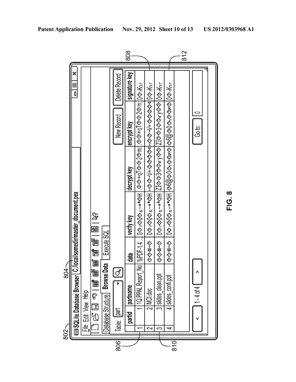 METHOD AND SYSTEM FOR BUSINESS WORKFLOW CYCLE OF A COMPOSITE DOCUMENT - diagram, schematic, and image 11