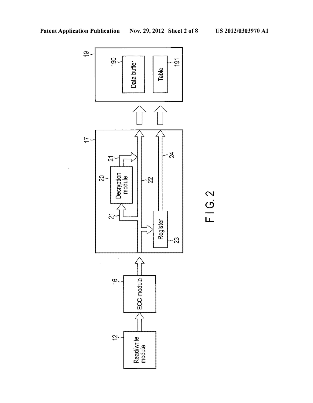 DATA STORAGE APPARATUS, STORAGE CONTROL APPARATUS AND DATA RECOVERY METHOD - diagram, schematic, and image 03