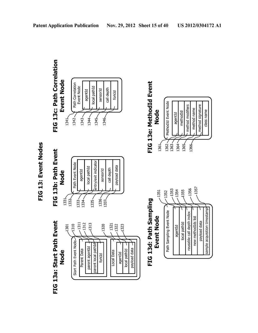 Method and System for Transaction Controlled Sampling of Distributed     Hetereogeneous Transactions without Source Code Modifications - diagram, schematic, and image 16