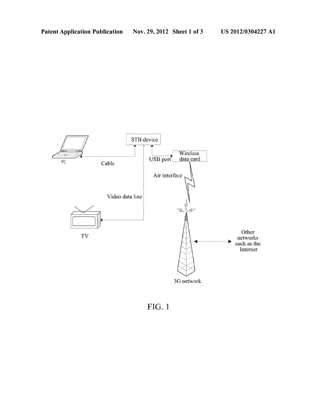 Internet Protocol Television System and Implementation Method Thereof - diagram, schematic, and image 02