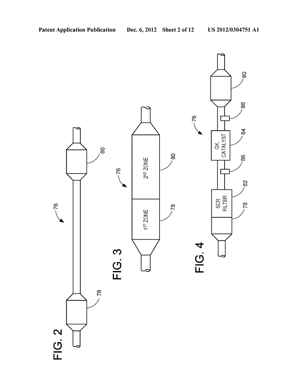 METHODS AND SYSTEMS FOR DIAGNOSTICS OF AN EMISSION SYSTEM WITH MORE THAN     ONE SCR REGION - diagram, schematic, and image 03