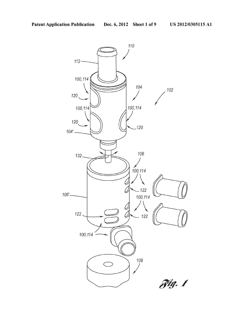 Fluid Valve Port Optimized for Robustness with Standard O-Ring Seal - diagram, schematic, and image 02