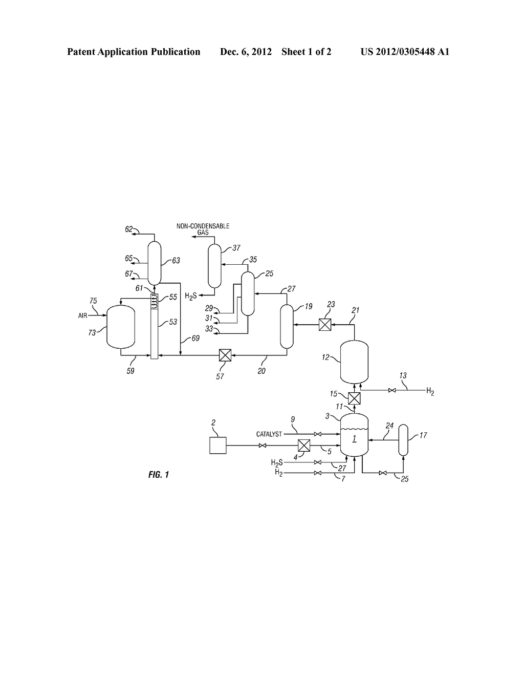PROCESS FOR TREATING A HYDROCARBON-CONTAINING FEED - diagram, schematic, and image 02