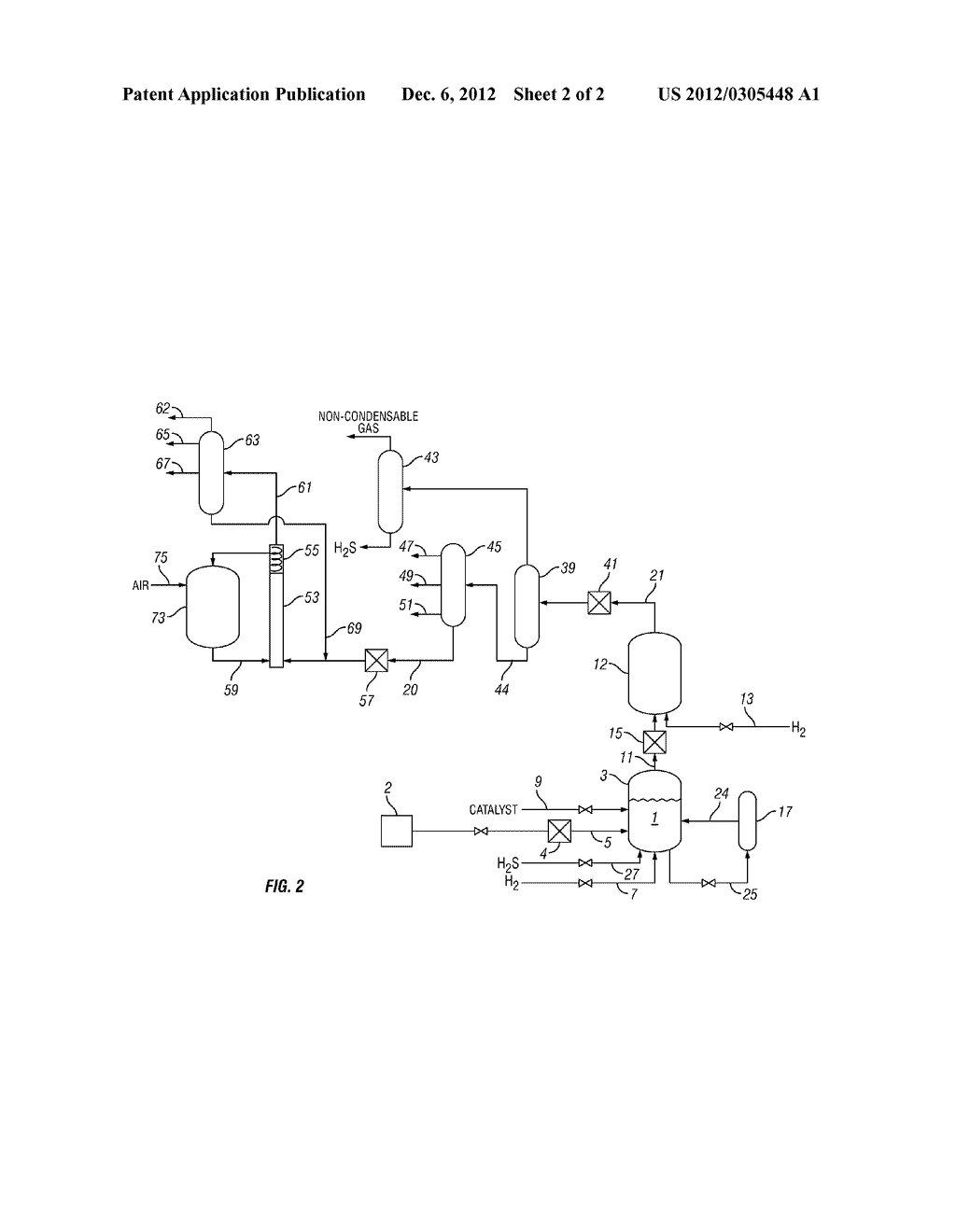 PROCESS FOR TREATING A HYDROCARBON-CONTAINING FEED - diagram, schematic, and image 03
