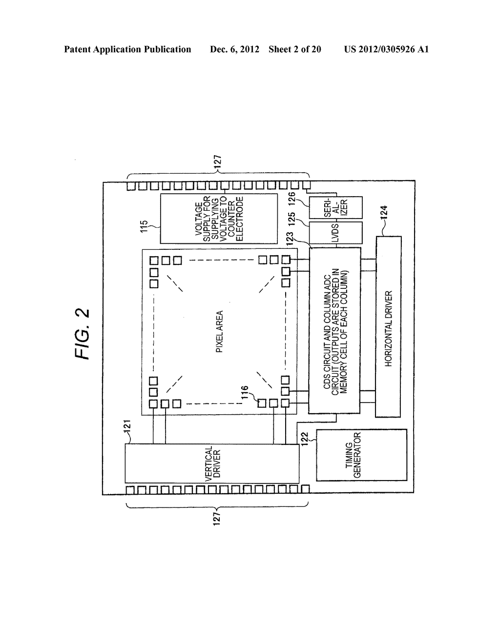 SOLID-STATE IMAGING DEVICE, PROCESS OF MAKING SOLID STATE IMAGING DEVICE,     DIGITAL STILL CAMERA, DIGITAL VIDEO CAMERA, MOBILE PHONE, AND ENDOSCOPE - diagram, schematic, and image 03