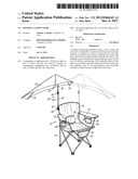 FOLDING CANOPY CHAIR diagram and image