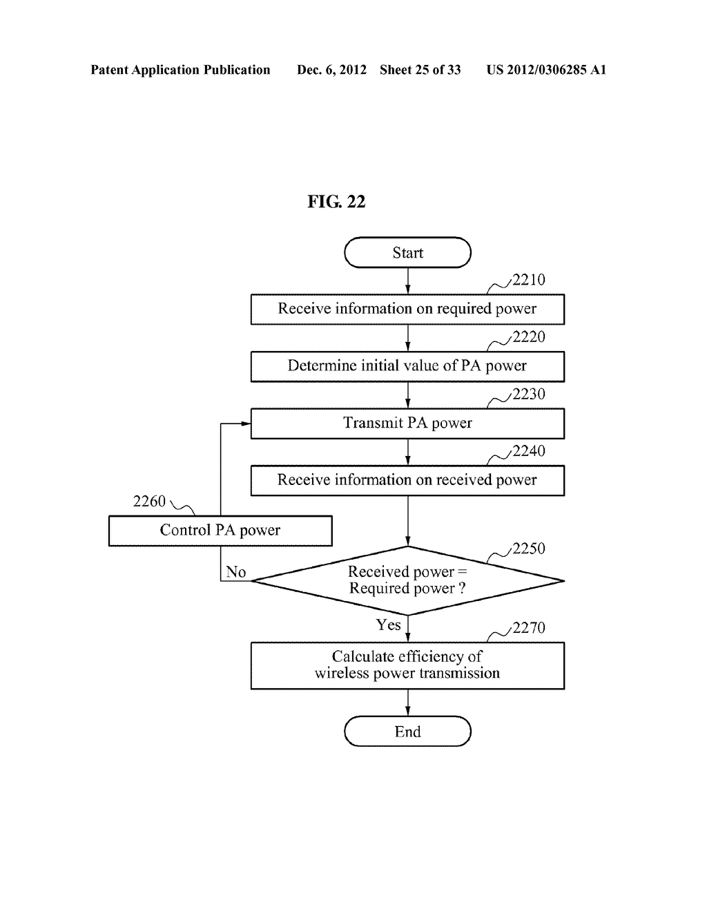 METHOD AND APPARATUS FOR DETECTING EFFICIENCY OF WIRELESS POWER     TRANSMISSION - diagram, schematic, and image 26