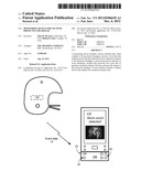 MONITORING DEVICE FOR USE WITH PROTECTIVE HEADGEAR diagram and image