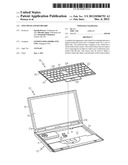 TOUCHPAD AND KEYBOARD diagram and image