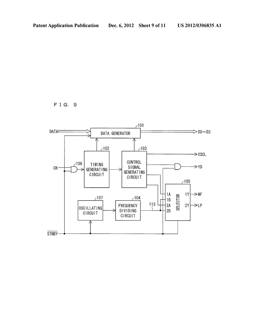LIQUID CRYSTAL DISPLAY DEVICE, DISPLAY METHOD, DISPLAY PROGRAMME, AND     COMPUTER READABLE RECORDING MEDIUM - diagram, schematic, and image 10