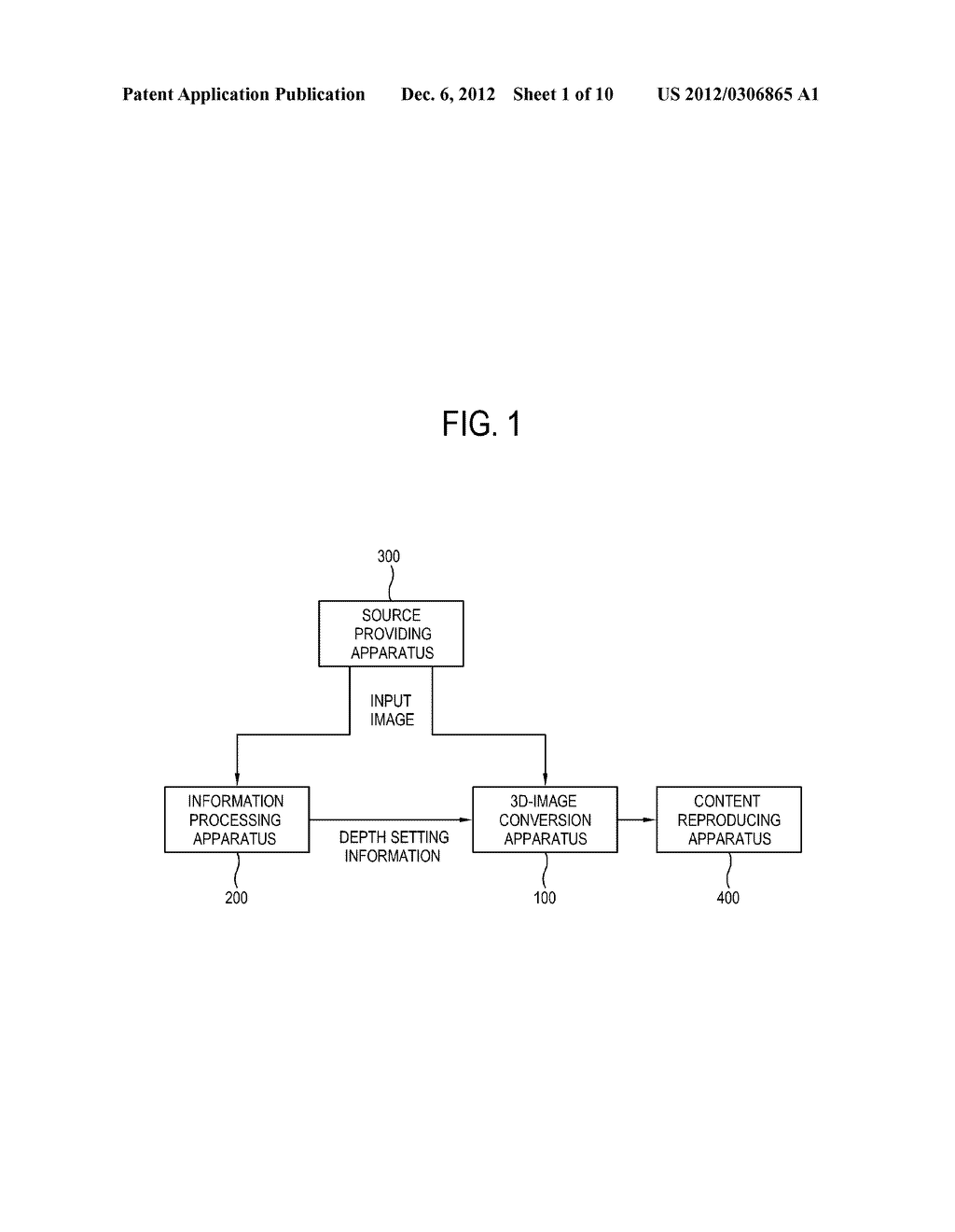 APPARATUS AND METHOD FOR 3D IMAGE CONVERSION AND A STORAGE MEDIUM THEREOF - diagram, schematic, and image 02