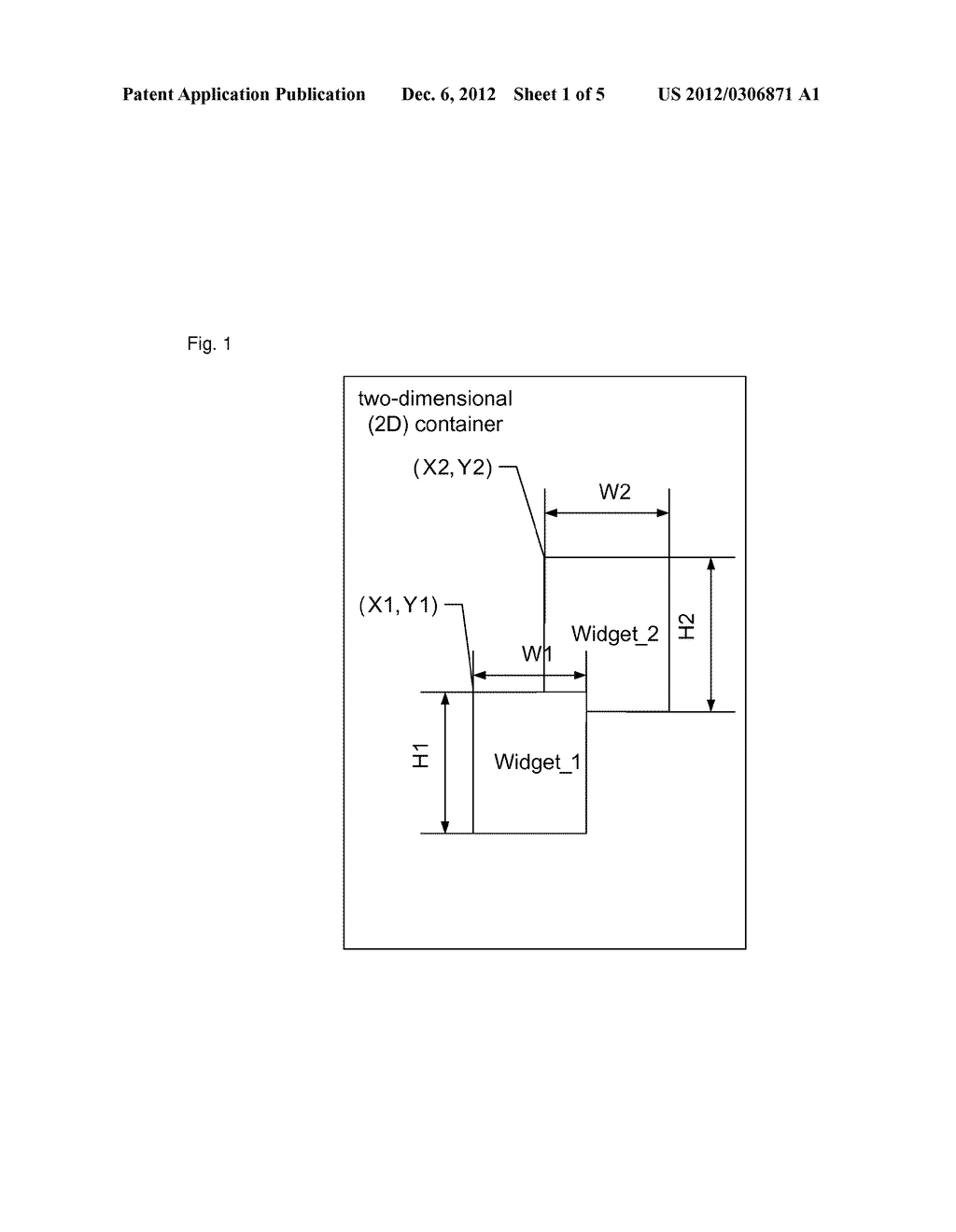 Method and apparatus for redrawing widget - diagram, schematic, and image 02
