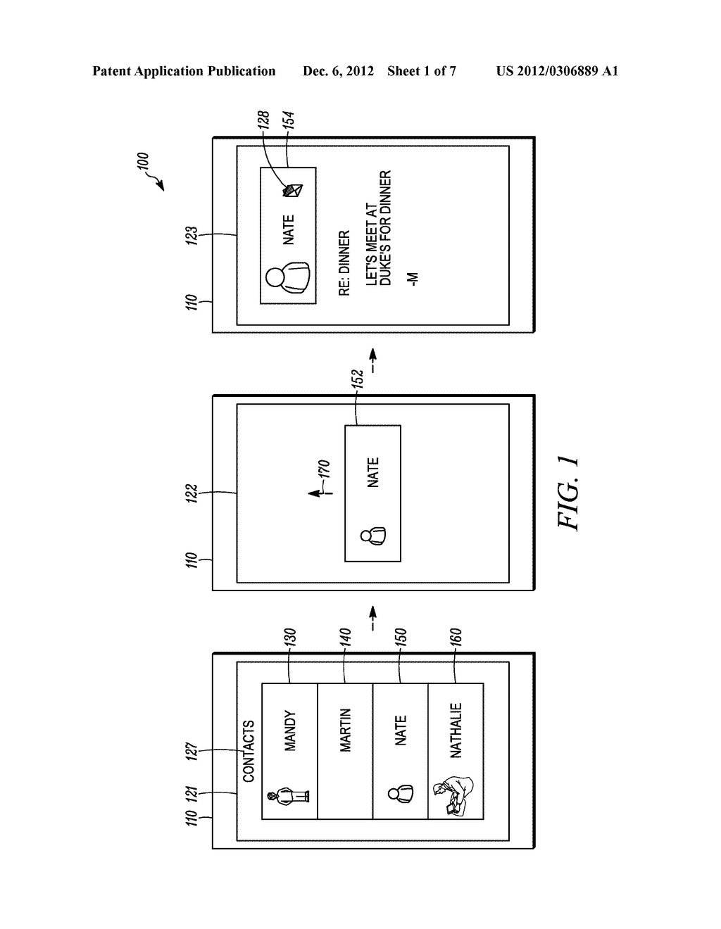 METHOD AND APPARATUS FOR OBJECT-BASED TRANSITION EFFECTS FOR A USER     INTERFACE - diagram, schematic, and image 02