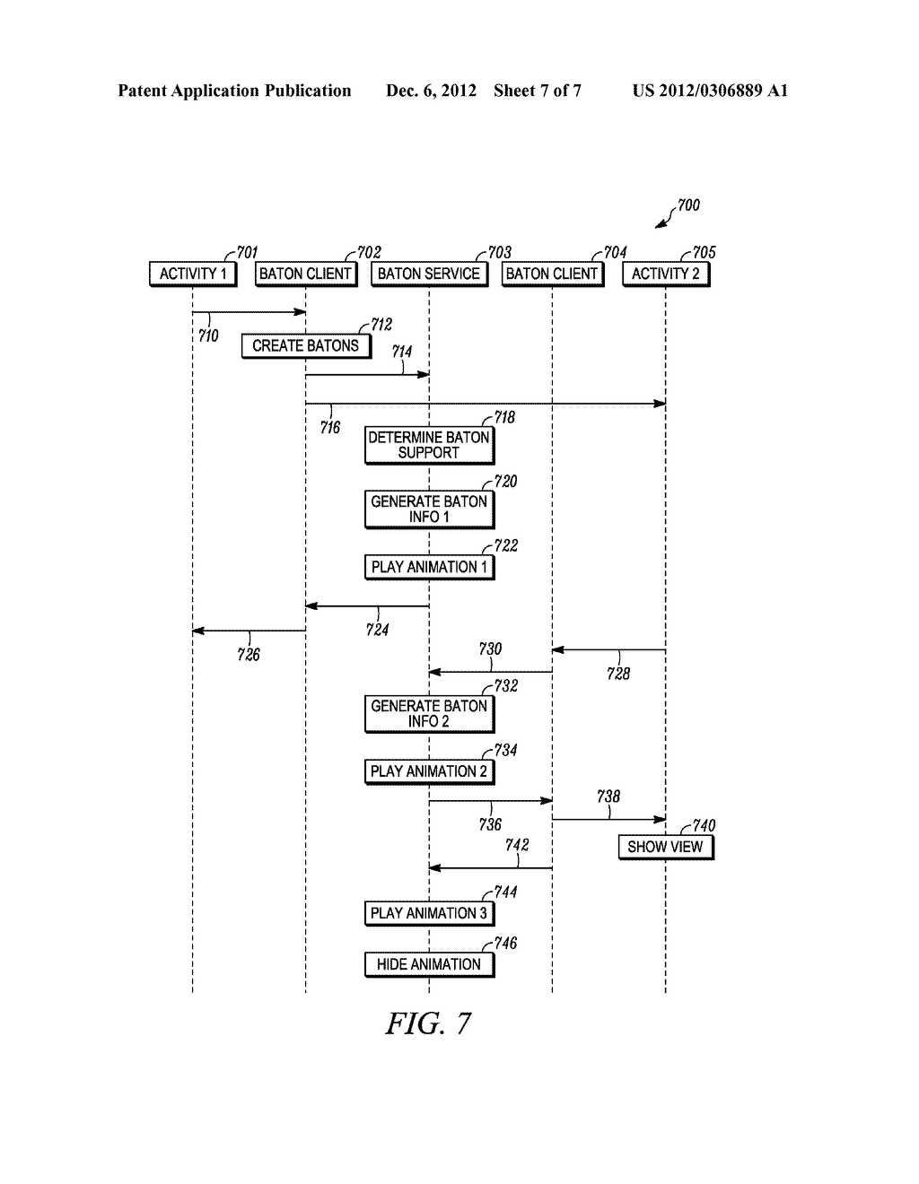 METHOD AND APPARATUS FOR OBJECT-BASED TRANSITION EFFECTS FOR A USER     INTERFACE - diagram, schematic, and image 08