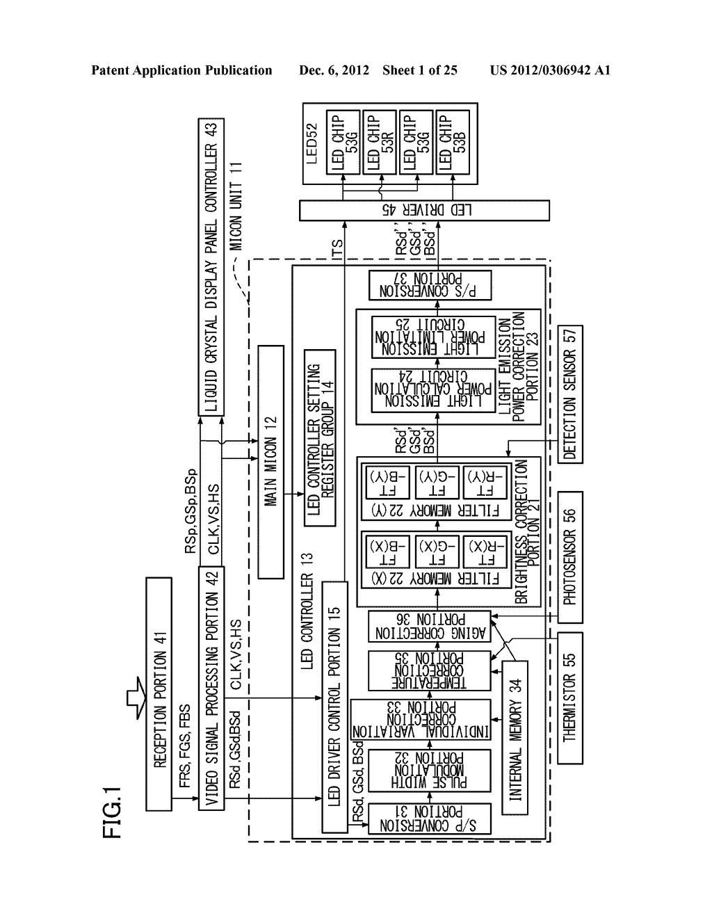 ILLUMINATION DEVICE, DISPLAY DEVICE, DATA GENERATION METHOD, DATA     GENERATION PROGRAM AND RECORDING MEDIUM - diagram, schematic, and image 02