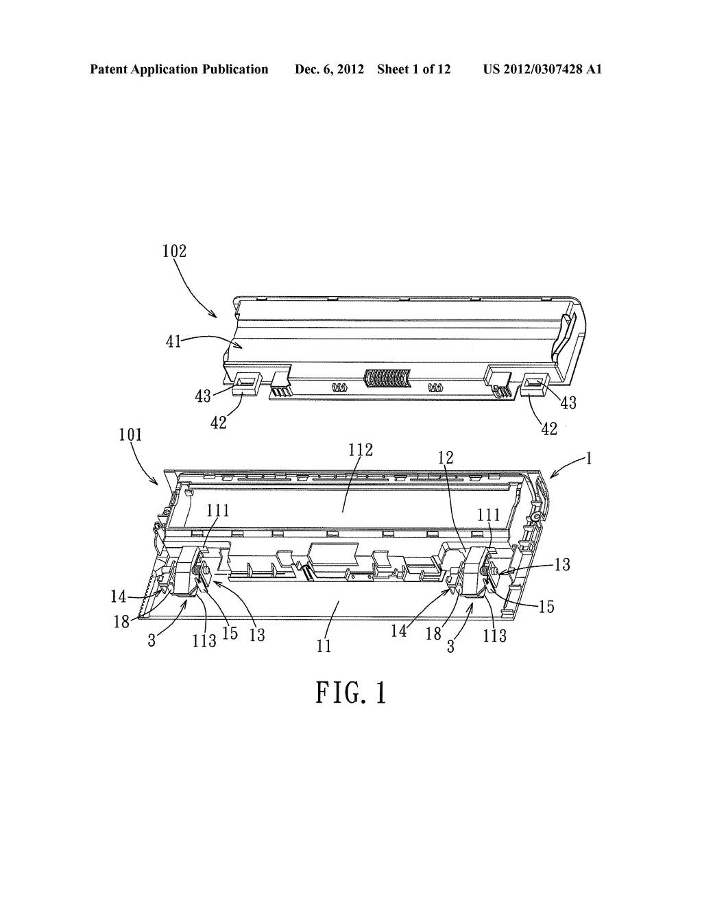 ELECTRONIC DEVICE, AND ASSEMBLY OF AN ELECTRONIC DEVICE AND A BATTERY - diagram, schematic, and image 02
