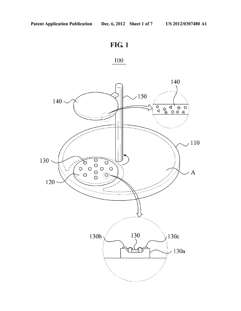 LIGHT EMITTING DIODE MODULE AND LIGHTING APPARATUS USING THE SAME - diagram, schematic, and image 02