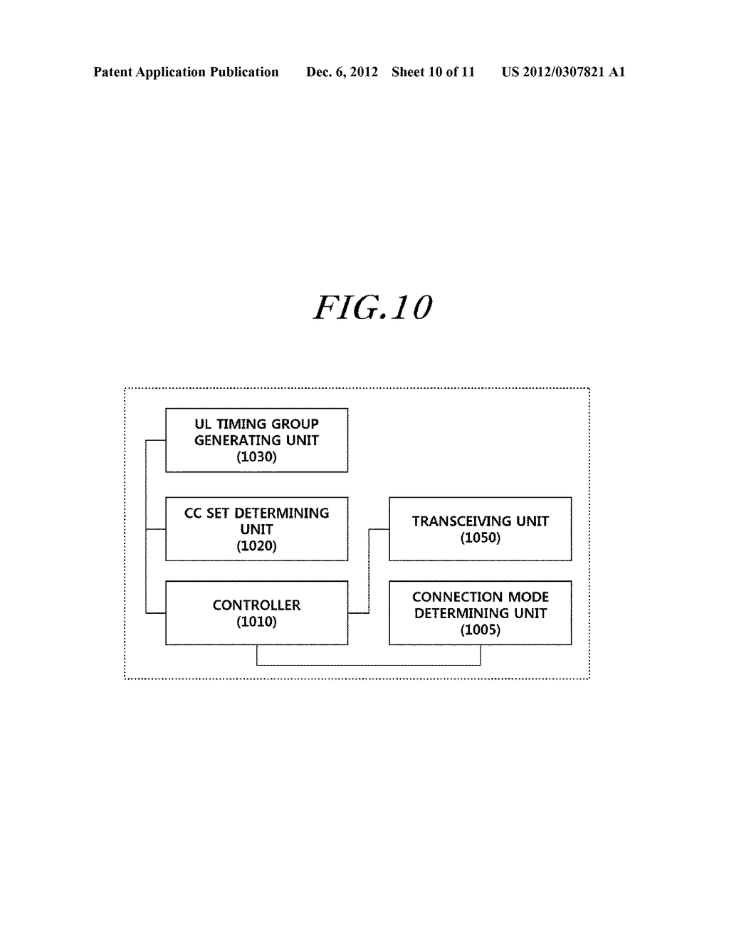 APPARATUS AND METHOD FOR ESTABLISHING UPLINK SYNCHRONIZATION IN A WIRELESS     COMMUNICATION SYSTEM - diagram, schematic, and image 11