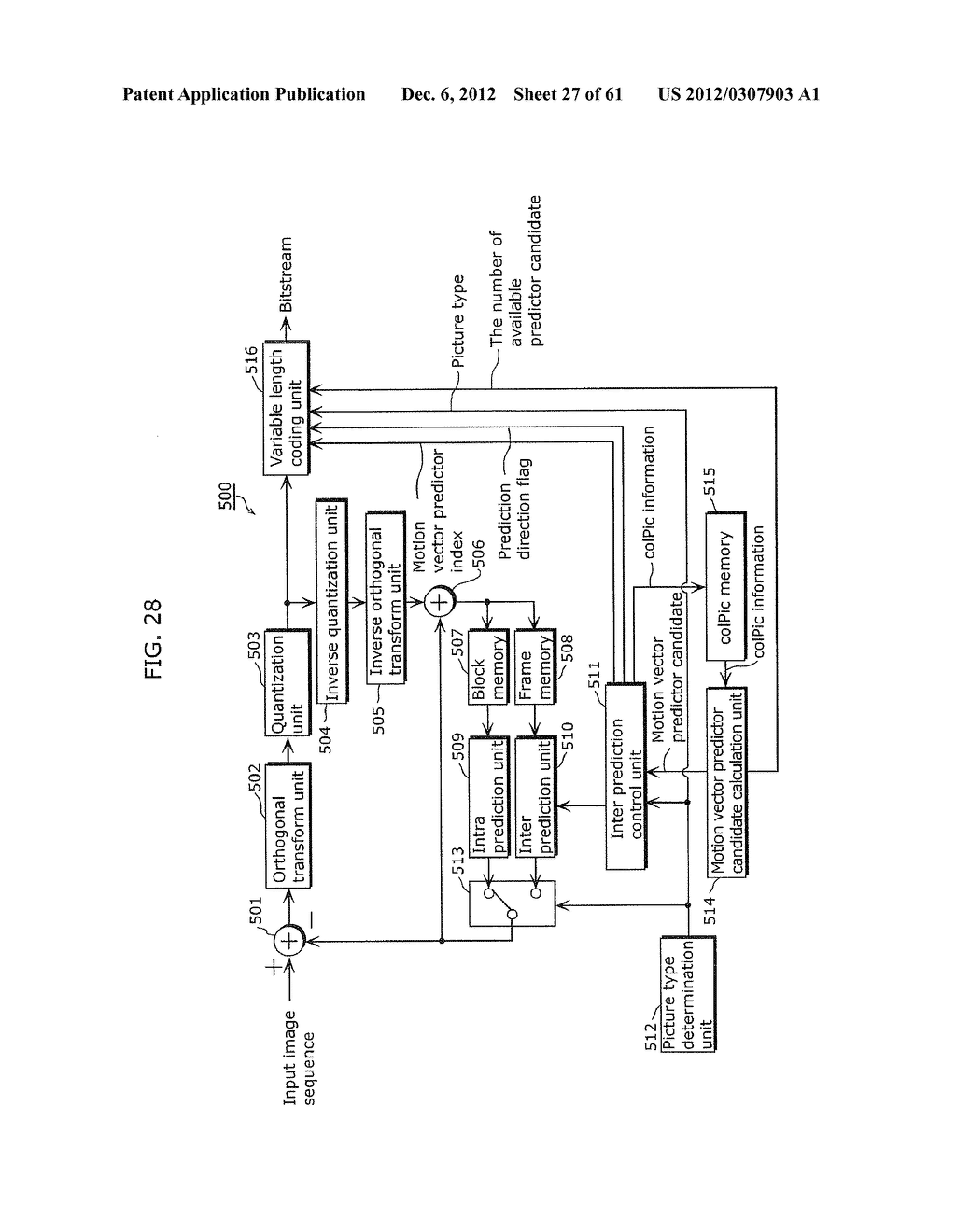 MOVING PICTURE CODING METHOD, MOVING PICTURE CODING APPARATUS, MOVING     PICTURE DECODING METHOD, MOVING PICTURE DECODING APPARATUS, AND MOVING     PICTURE CODING AND DECODING APPARATUS - diagram, schematic, and image 28