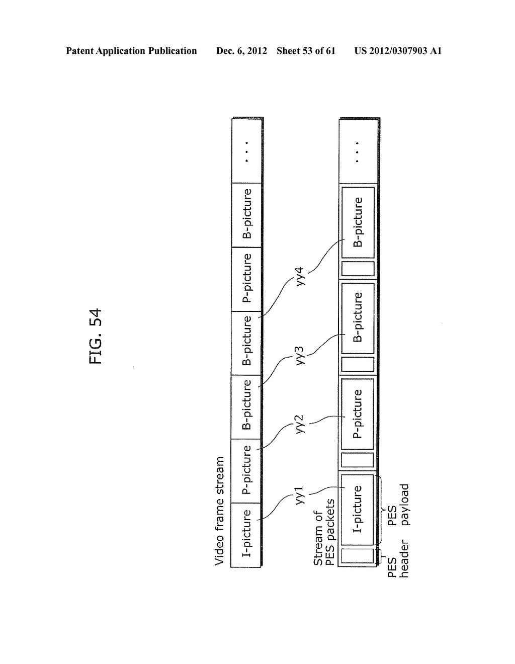 MOVING PICTURE CODING METHOD, MOVING PICTURE CODING APPARATUS, MOVING     PICTURE DECODING METHOD, MOVING PICTURE DECODING APPARATUS, AND MOVING     PICTURE CODING AND DECODING APPARATUS - diagram, schematic, and image 54